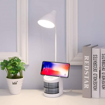 BEST BATTERY OPERATED DESK LAMP WITH ORGANIZER