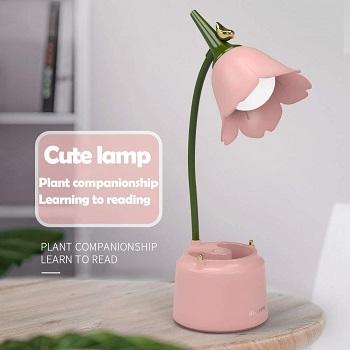 BEST BATTERY OPERATED FLOWER DESK LAMP