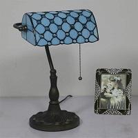 BEST BEDROOM BLUE BANKERS LAMP picks
