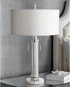 BEST BEDSIDE CHROME DESK LAMP