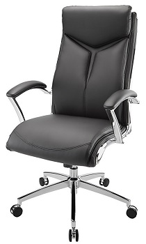 BEST BLACK MODERN LEATHER OFFICE CHAIR