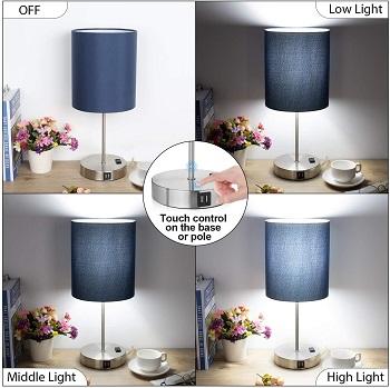 BEST BLUE COLORFUL DESK LAMP