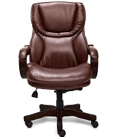 BEST BROWN LEATHER ROLLING CHAIR Summary