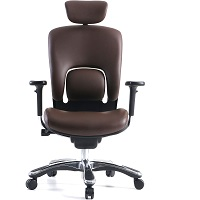 BEST BROWN LEATHER SWIVEL OFFICE CHAIR Summary