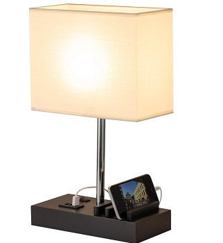 BEST CHARGING DESK LAMP WITH ORGANIZER