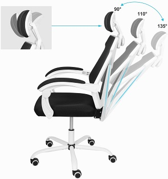 BEST CHEAP BLACK AND WHITE DESK CHAIR
