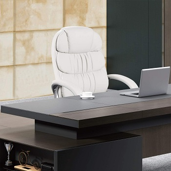 BEST CHEAP LEATHER OFFICE CHAIR WITH LUMBAR SUPPORT