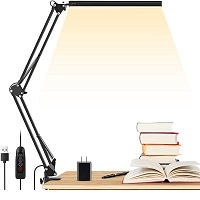BEST CLAMP DESK LAMP WITH DIMMER picks