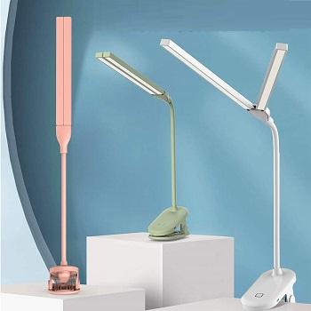 BEST CLAMP DOUBLE DESK LAMP