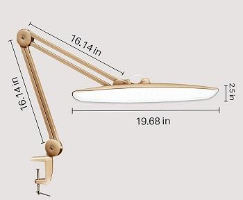BEST CLAMP FUTURISTIC DESK LAMP