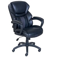 BEST ERGONOMIC BLACK LEATHER OFFICE CHAIR WITH WHEELS Summary