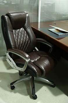 BEST ERGONOMIC LEATHER ROLLING CHAIR