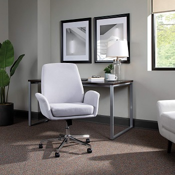 BEST ERGONOMIC UPHOLSTERED EXECUTIVE OFFICE CHAIR