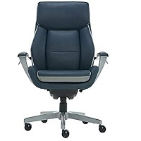 BEST EXECUTIVE BLUE LEATHER OFFICE CHAIR Summary