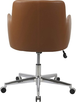 BEST EXECUTIVE TAN LEATHER OFFICE CHAIR