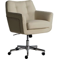 BEST FAUX LEATHER CREAM LEATHER DESK CHAIR Summary