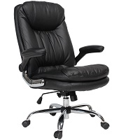 BEST FAUX LEATHER DESK CHAIR WITH ARMS Summary