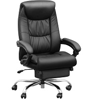 BEST FOR STUDY LEATHER OFFICE CHAIR WITH LUMBAR SUPPORT Summary