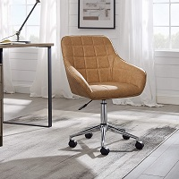 BEST FOR STUDY SMALL LEATHER DESK CHAIR Summary