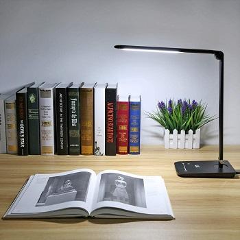 BEST FOR STUDYING BLACK METAL DESK LAMP