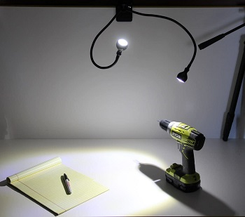 BEST GOOSENECK DOUBLE DESK LAMP