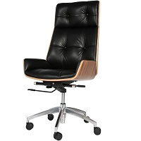 BEST LEATHER OFFICE CHAIR WITH WOOD ARMS Summary