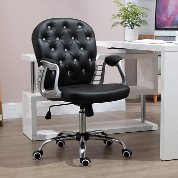 BEST LEATHER TUFTED EXECUTIVE OFFICE CHAIR