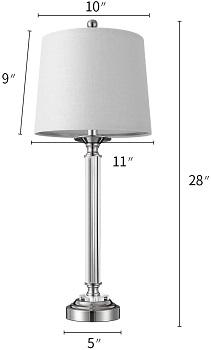BEST LED CHROME DESK LAMP