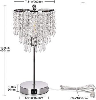 BEST LED CRYSTAL DESK LAMP