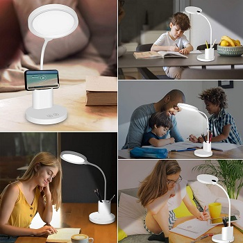 BEST LED DESK LAMP WITH STORAGE