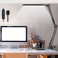 BEST LED MODERN BLACK DESK LAMP picks