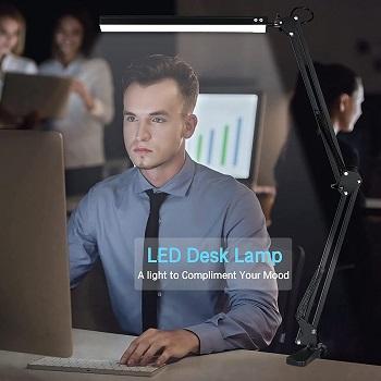 BEST LED MODERN BLACK DESK LAMP