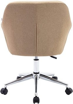 BEST LINEN FABRIC OFFICE CHAIR WITH ARMS