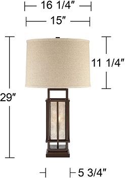 BEST METAL MODERN FARMHOUSE LAMP