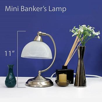 BEST MINI MODERN BANKERS LAMP
