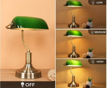 BEST MODERN GREEN LAWYER LAMP