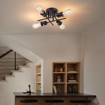 BEST MODERN HOME OFFICE OVERHEAD LIGHTING