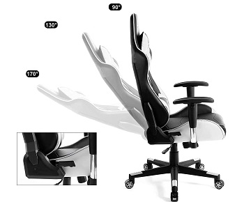 BEST OF BEST BLACK AND WHITE COMPUTER CHAIR
