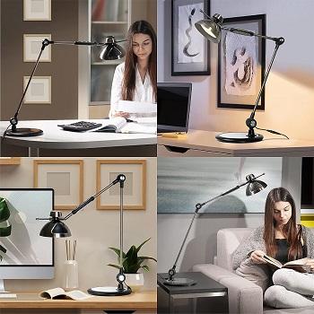 BEST OF BEST BLACK METAL DESK LAMP