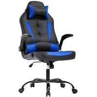 BEST OF BEST BLUE LEATHER DESK CHAIR Summary