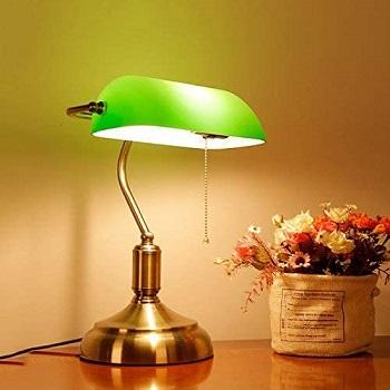BEST OF BEST BRASS BANKERS LAMP