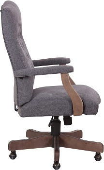 BEST OF BEST CLOTH OFFICE CHAIR WITH ARMS