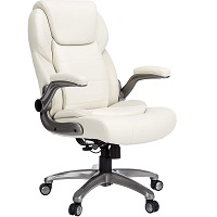BEST OF BEST CREAM LEATHER DESK CHAIR Summary