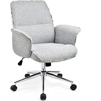 BEST OF BEST FABRIC DESK CHAIR WITH WHEELS Summary