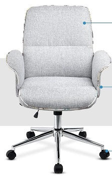BEST OF BEST FABRIC DESK CHAIR WITH WHEELS