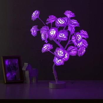 BEST OF BEST FLOWER DESK LAMP