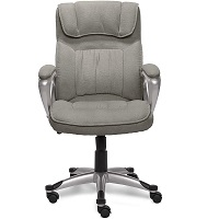 BEST OF BEST GRAY FABRIC OFFICE CHAIR Summary