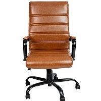 BEST OF BEST LEATHER DESK CHAIR WITH ARMS Summary