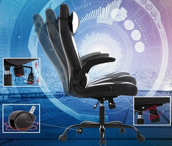 BEST OF BEST LEATHER OFFICE CHAIR WITH LUMBAR SUPPORT