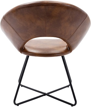 BEST OF BEST MID CENTURY LEATHER OFFICE CHAIR